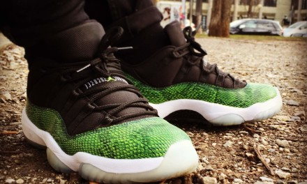 Air Jordan 11 Low Green Snake – Nightshade
