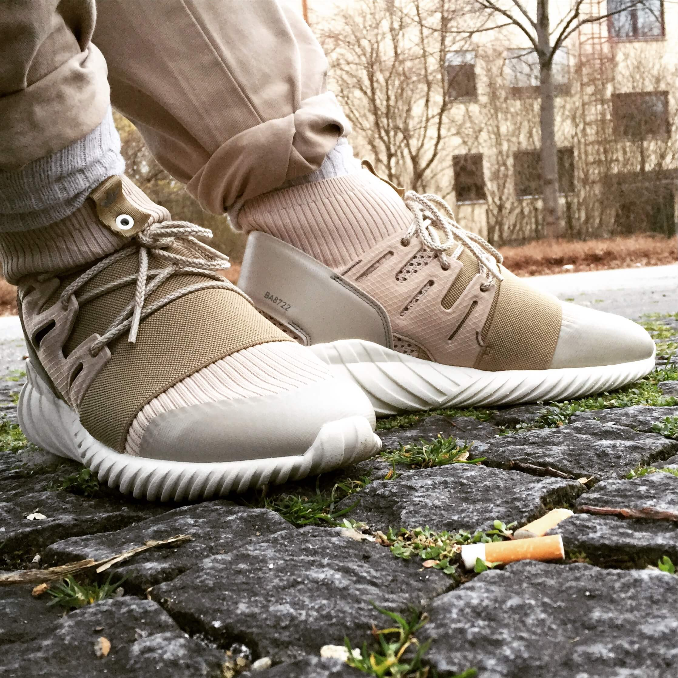 Adidas Tubular Doom Primeknit Grey Unboxing and Review