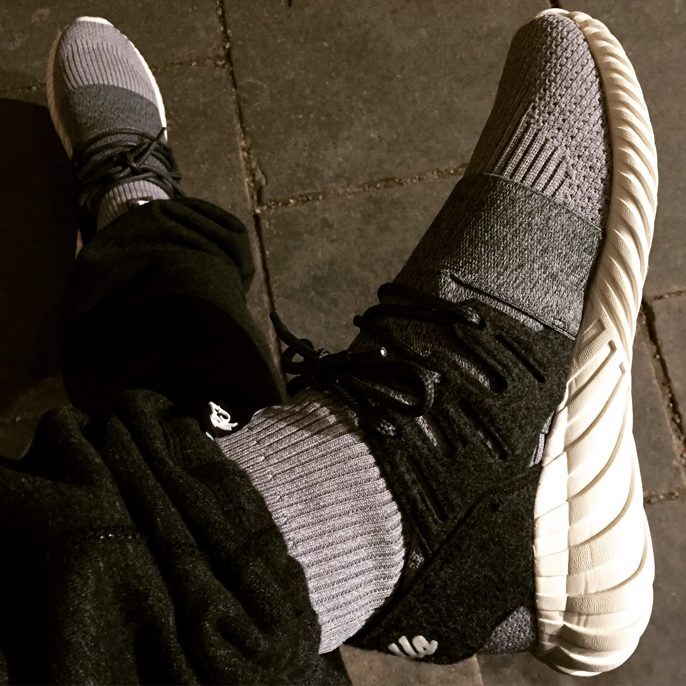 KITH-Adidas-Tubular-Doom-Top-View-Benstah-Onfeet