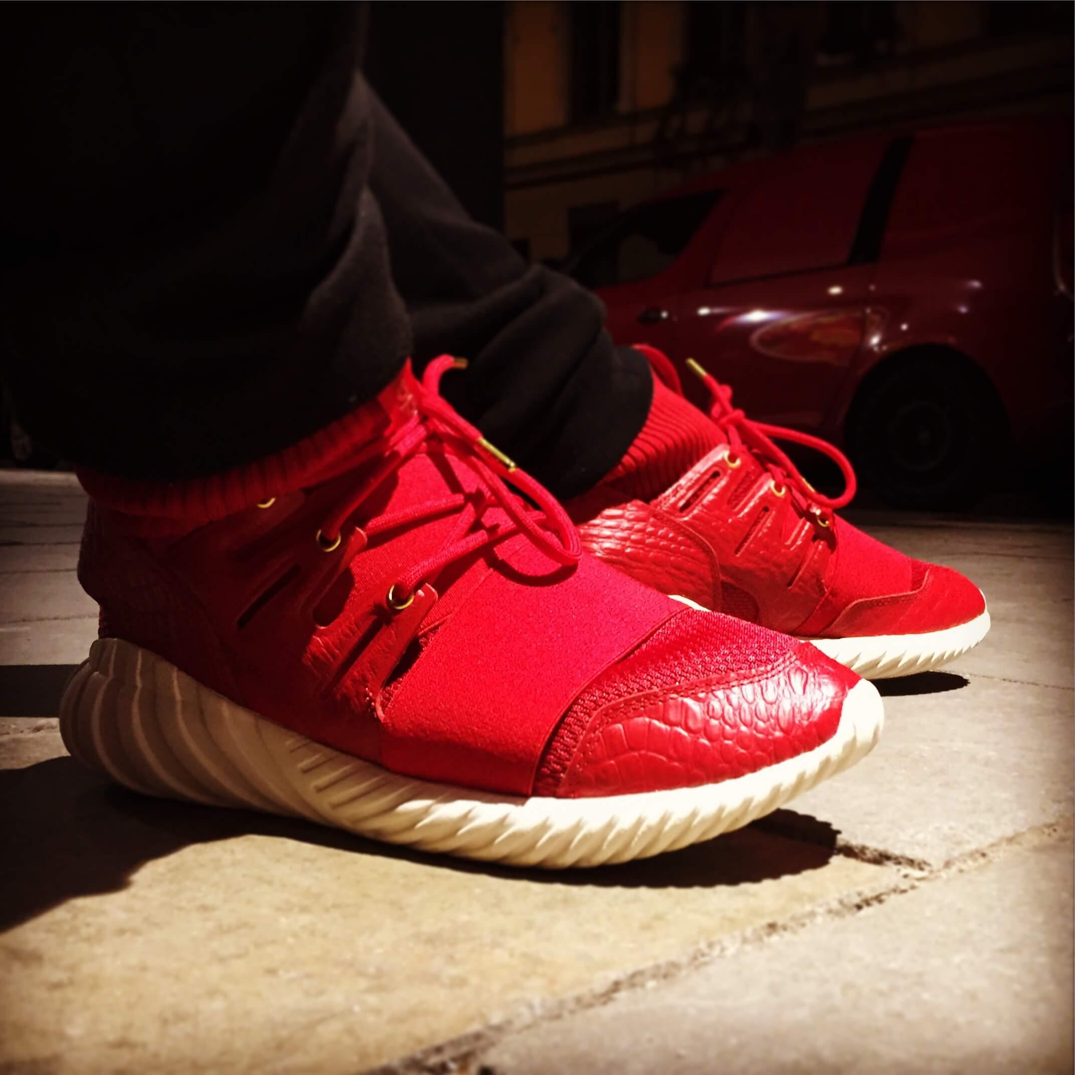"the latest 0d75a 2c659 Adidas Tubular Doom ""Chinese New Year"" | Benstah.com"