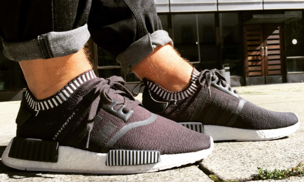 Adidas NMD R1 Primeknit -Japan Boost Solid Grey-