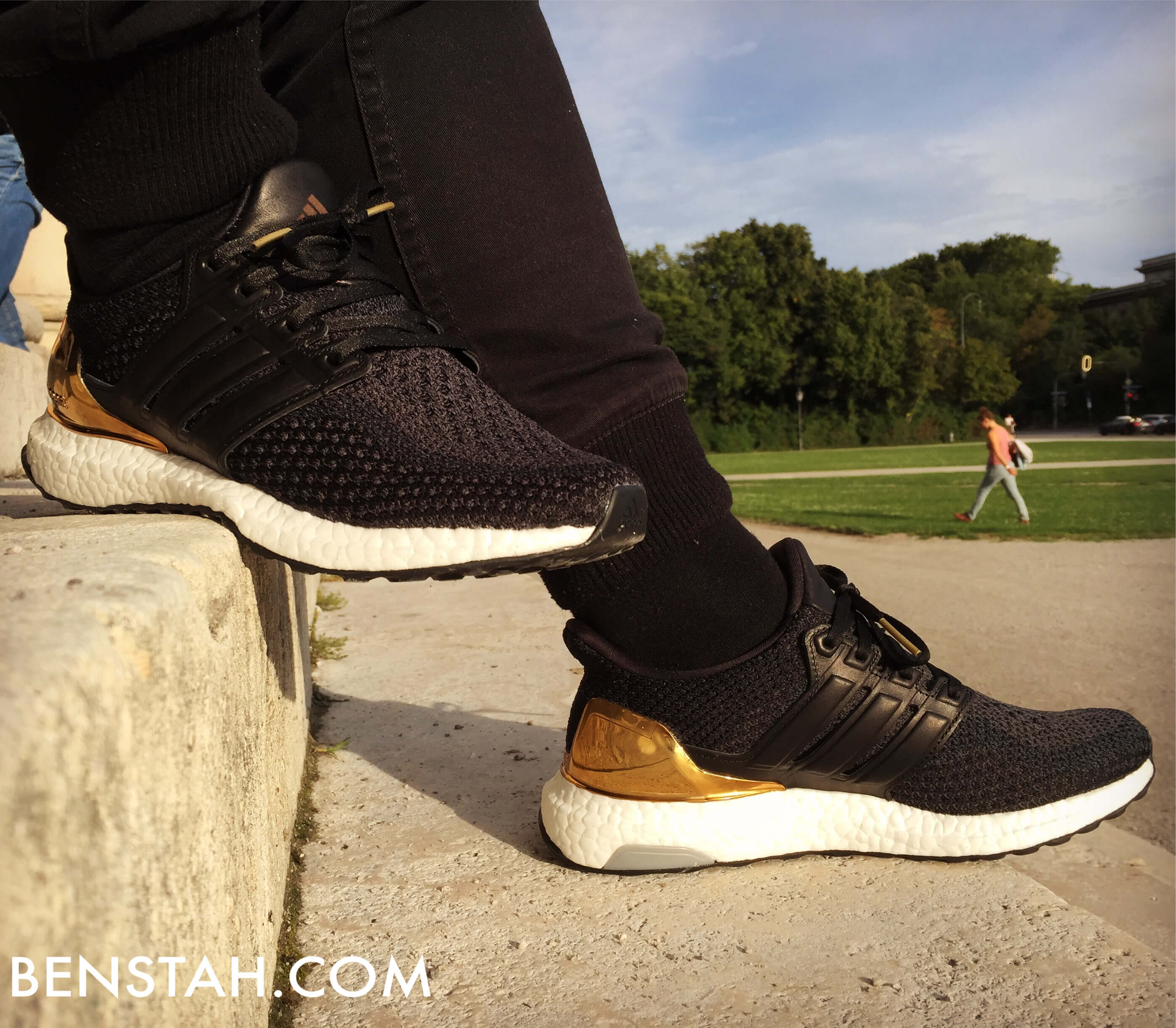 adidas-ultra-boost-gold-medal-side-view-benstah-onfeet