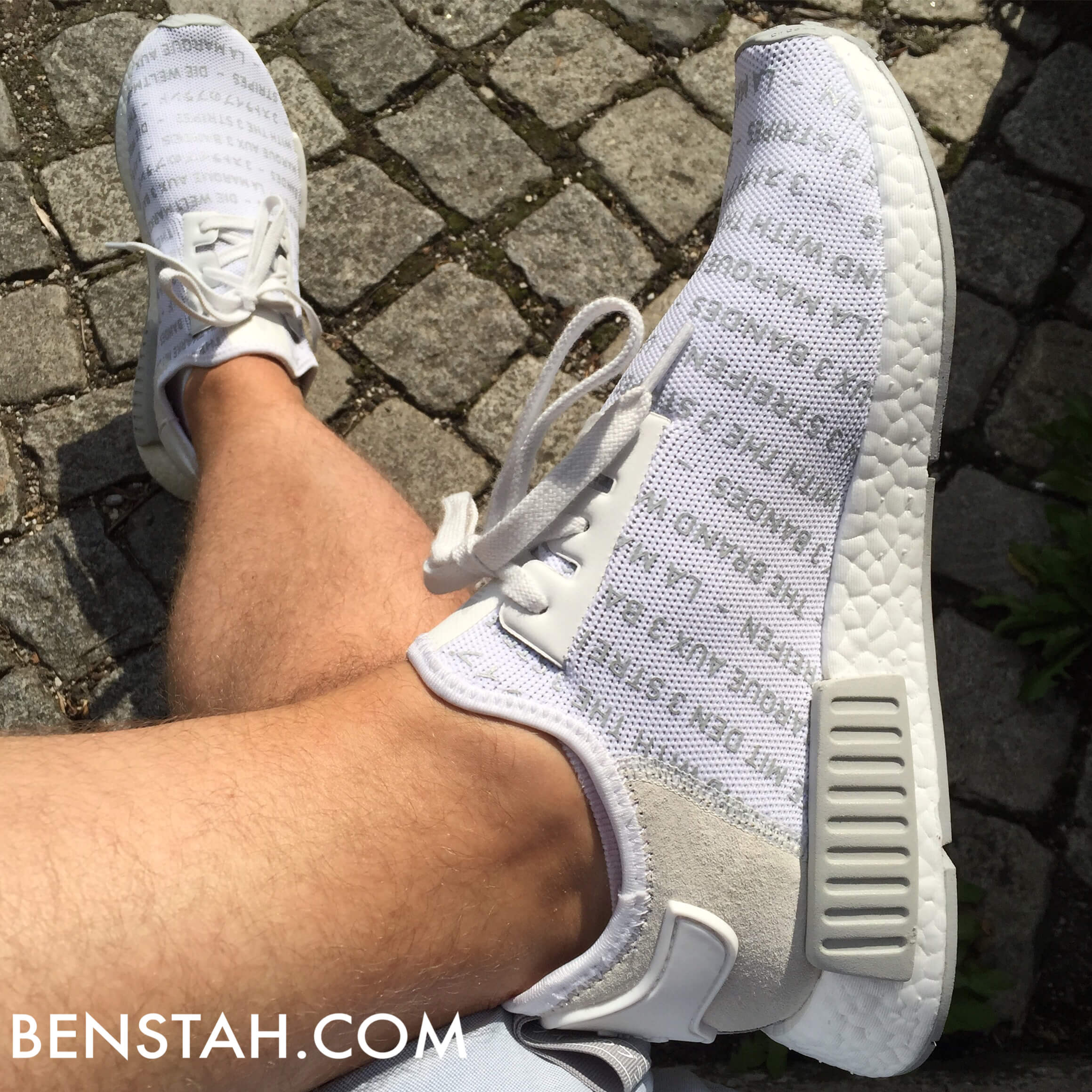 adidas-nmd-r1-whiteout-top-view-benstah-onfeet