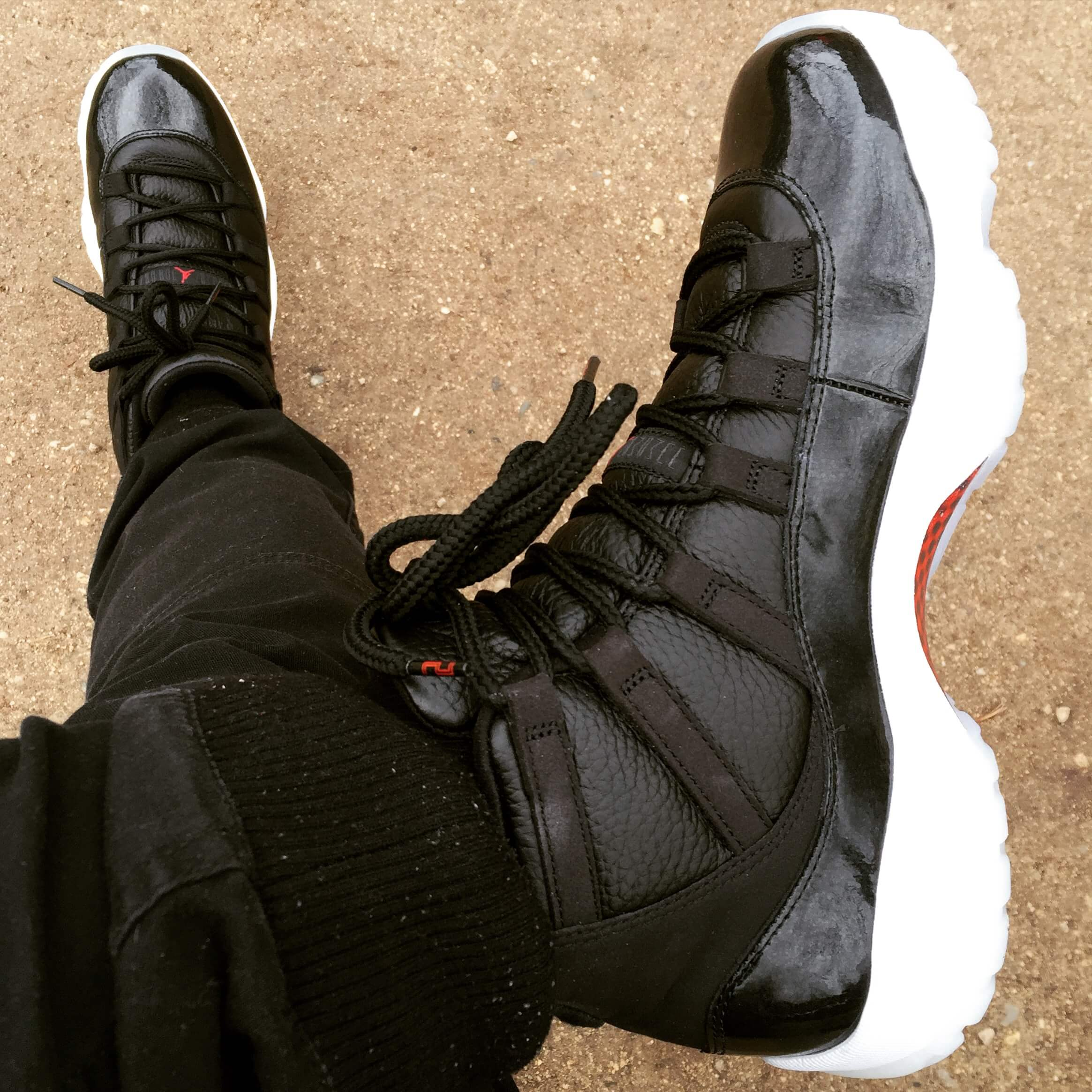 Air-Jordan-11-72-10-Top-View-Benstah-Onfeet