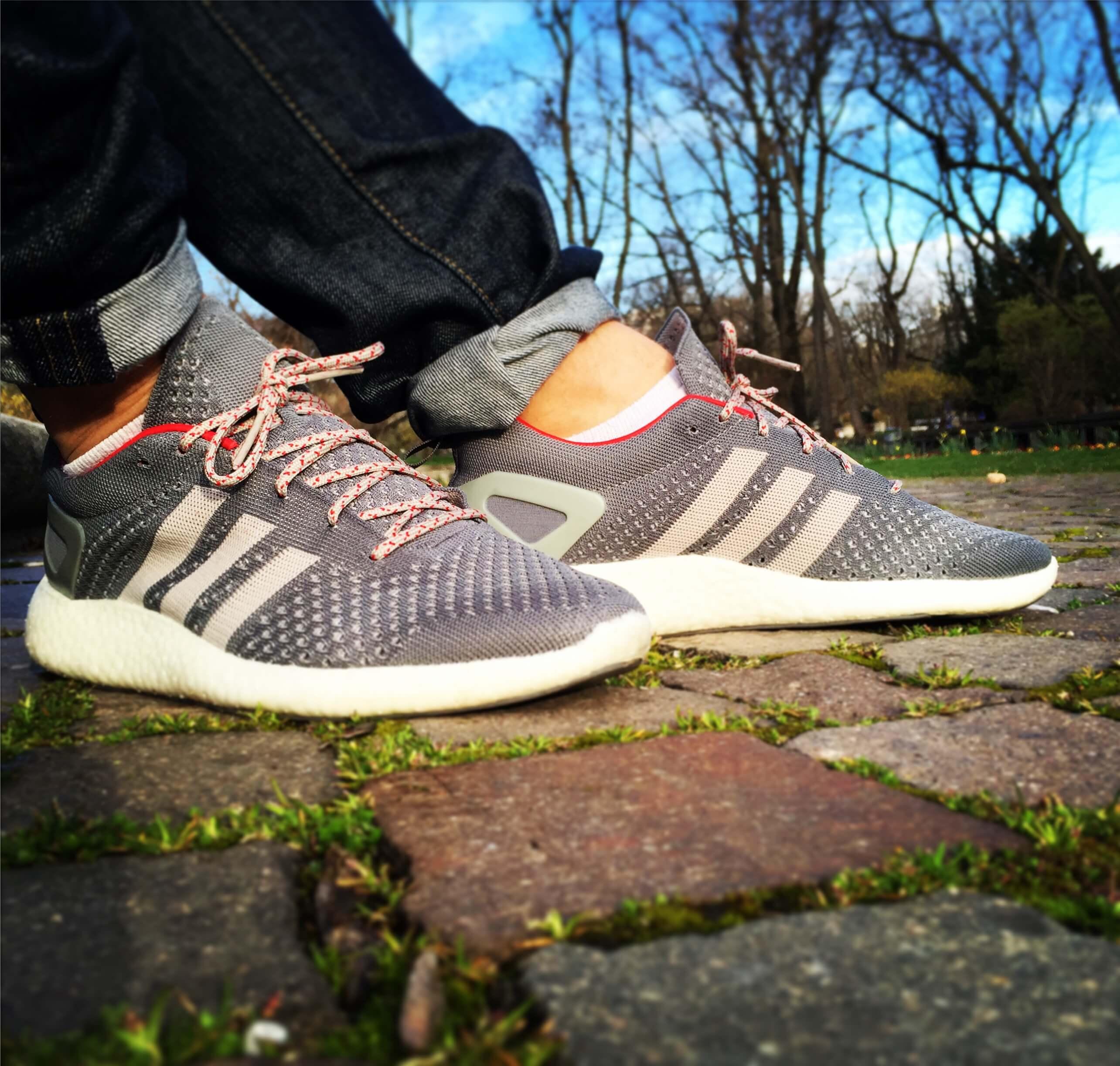 Adidas-Pure-Boost-Primeknit-Side-View-Benstah-Onfeet