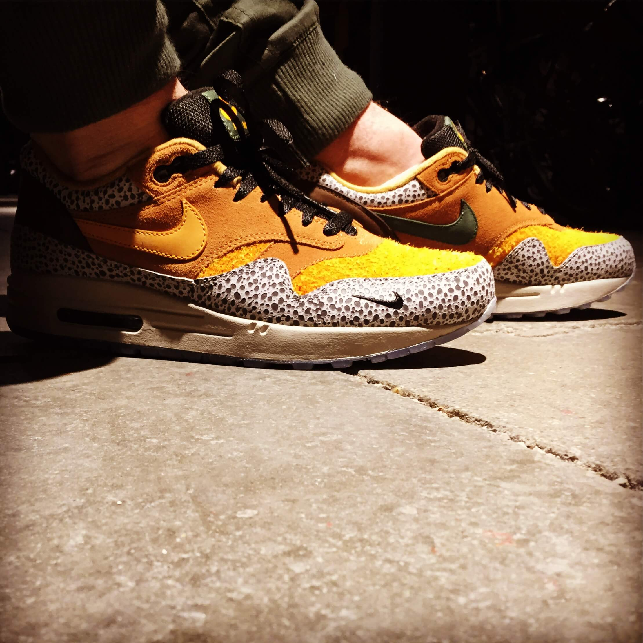 Nike-Air-Max-1-Safari-x-Atmos-Side-View-Alternate-2-Benstah-Onfeet