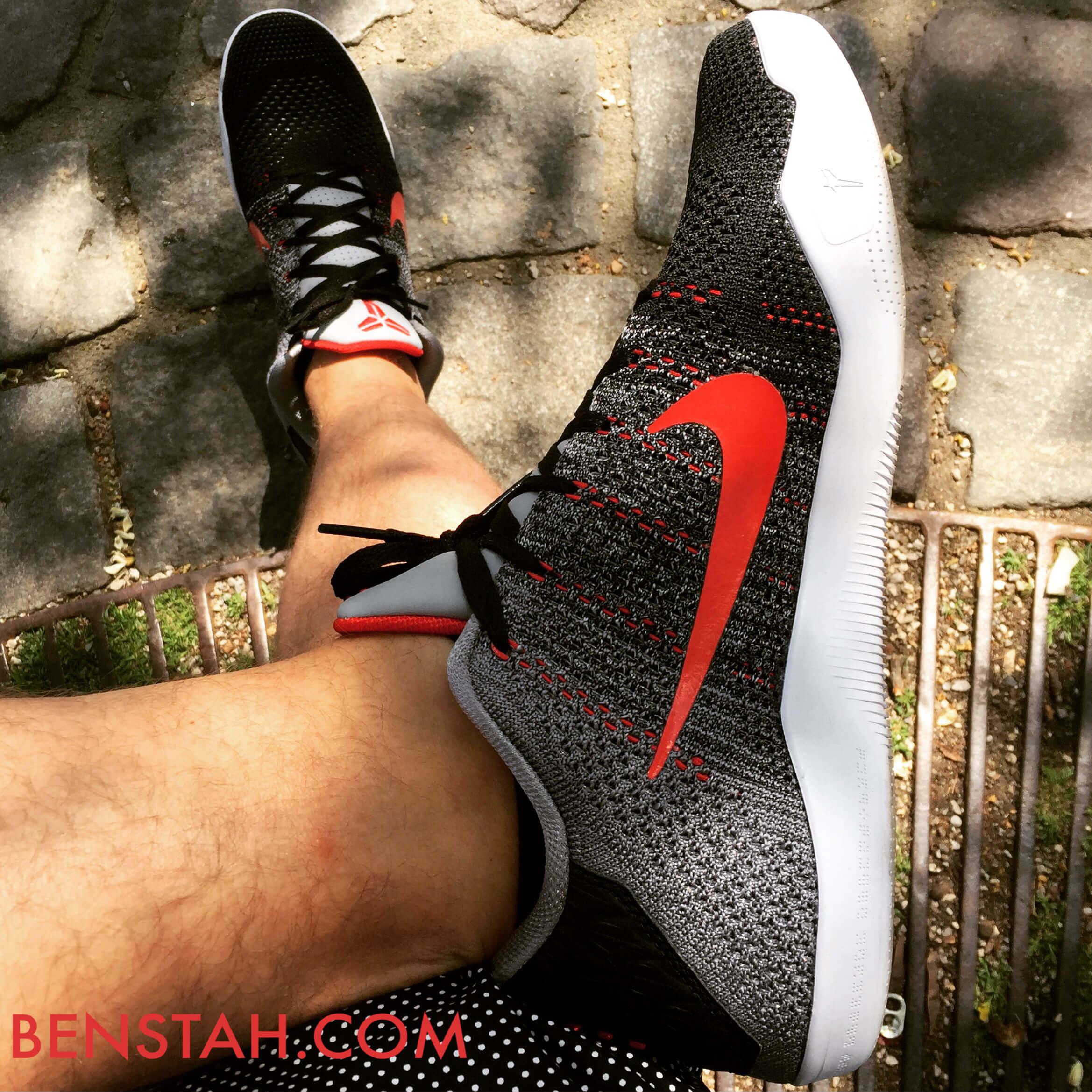 Nike-Kobe-11-Elite-Low-Tinker-Hatfield-Top-View-Benstah-Onfeet