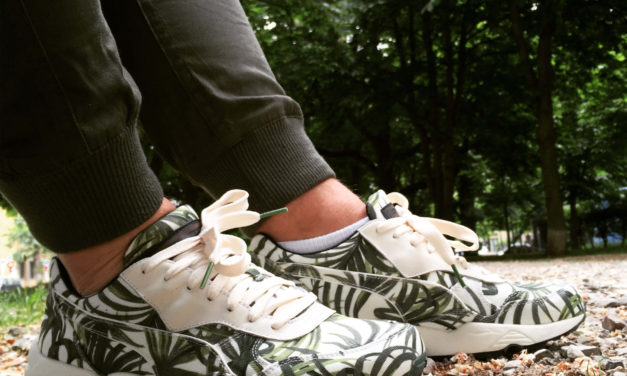 "House of Hackney x PUMA R698 ""Palm"""