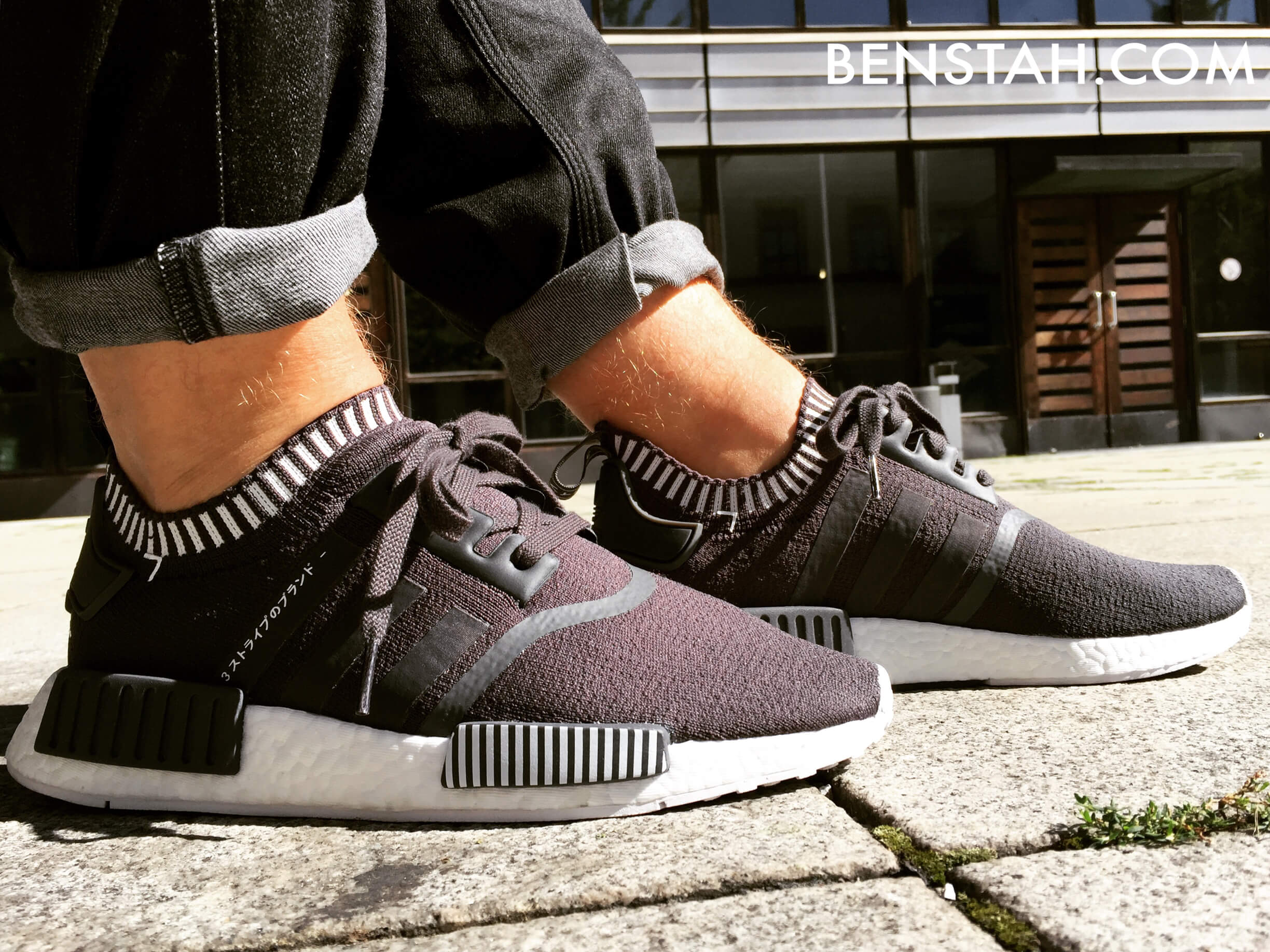 adidas-nmd-r1-primeknit-japan-boost-solid-grey-side-view-bensta-onfeet