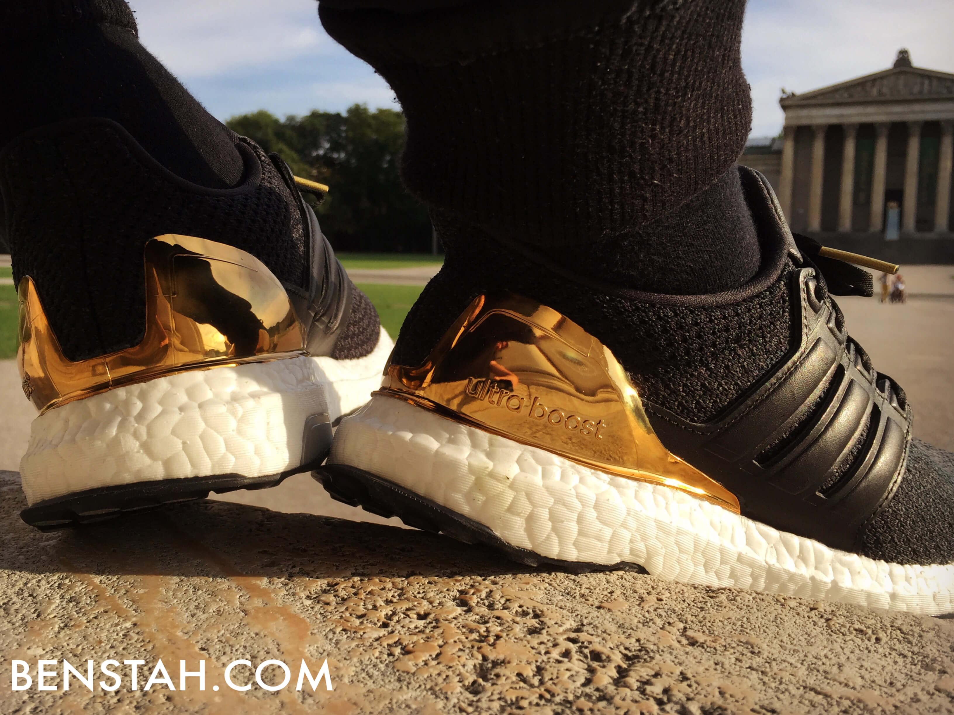 adidas-ultra-boost-gold-medal-rear-view-benstah-onfeet